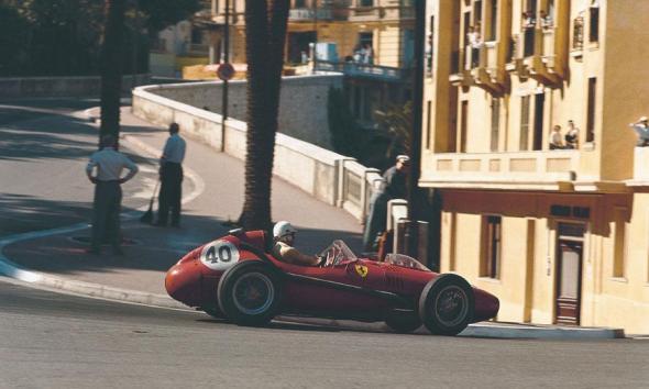 Wolfgang Von Trips turning Monaco's tightest corner