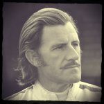 Edited Portrait of Graham Hill