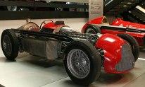 A stripped down Alfa Romeo 159.