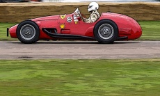 A Ferrari Tipo 500 F2 being run at a recent Goodwood.