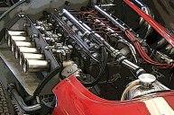 The Maserati 250F engine.