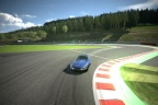Gran Turismo rendering of the bus stop chicane.
